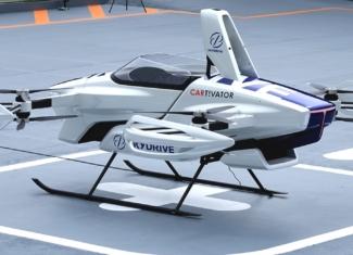 El coche volador SD-03 suelta lastre