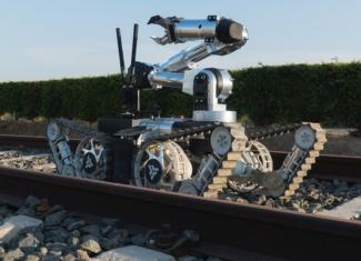 Así es el robot 'transformer' que desactiva explosivos