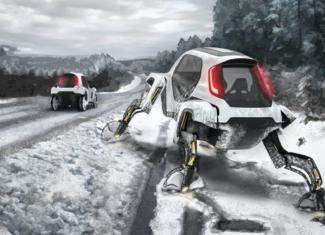 El coche con piernas robóticas y sin barreras