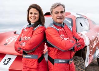 Carlos Sainz y Laia Sanz juntos al volante en Extreme E