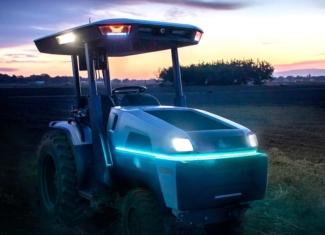 Así es el primer tractor inteligente y totalmente eléctrico