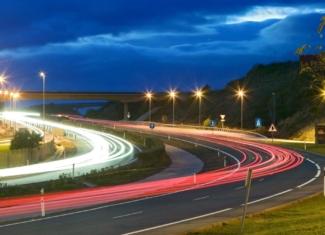 Carreteras inteligentes 5G y tecnología avanzada