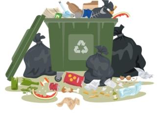 Cada español genera 443 kilos de residuos