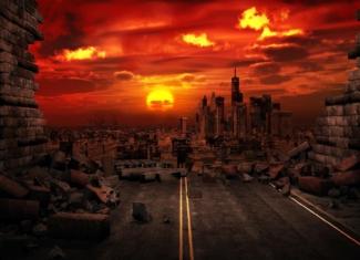 El mundo arrasado por el cambio climático