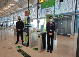 Reconocimiento facial y seguridad en el aeropuerto