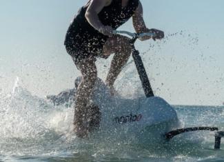 ¡Quiero una bicicleta acuática!