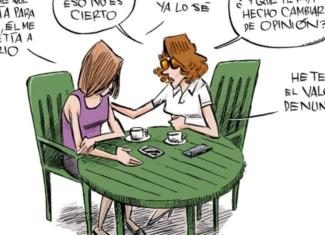 Así son las ilustraciones de Puebla contra el ciberacoso en jóvenes