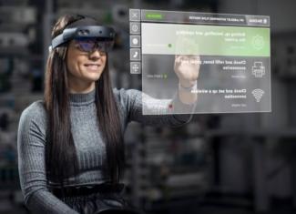 Gafas de realidad aumentada en la producción de vehículos