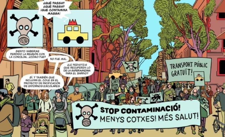 el-comic-que-dibuja-una-barcelona-mas-sostenible-y-saludable
