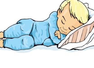 El hábito saludable de dormir bien en los niños