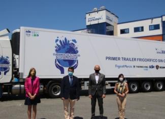 Un trailer frigorífico que reduce el ruido es posible y real
